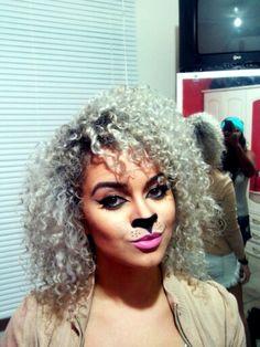 Lion makeup! #carnival #brazil