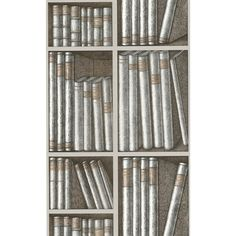 Cole & Son | Fornasetti Ex Libris 77/11043 Wallpapers