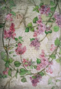 Rice Paper for Decoupage Decopatch Scrapbooking Sheet Craft Vinatge Flowers