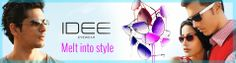 Buy huge range of IDEE sunglasses online in impeccable quality and international styles at best price from specswala.com. Idee is a most popular & known for its distinctive positioning in fashion industry. You can get all types of IDEE eyewear, goggle, frames for men & women in vatiety of style & designs like aviators, square, oblong, oval, round & more sunglasss with best offers, deals, discount, free shipping & cash on delivery in India.