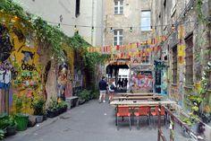 Berlin insolite - L'impasse Haus Schwarzenberg.