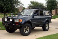 Fj80 Looking Good I Would Love To Have This Truck