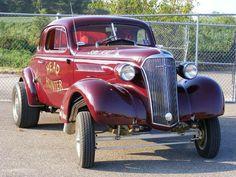 Headhunter '37 Chevy gasser