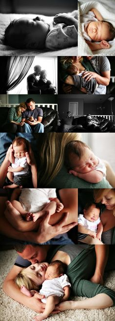 gorgeous lifestyle newborn session