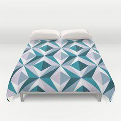 The Blue Diamond Duvet Cover by Azarias for #Society6 - $99.00