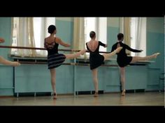 Open adult ballet class in DanceSecret.ru - YouTube