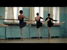 Open adult ballet class in DanceSecret.ru - YouTube