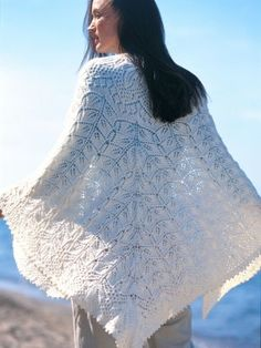 Heirloom Shawl | AllFreeKnitting.com