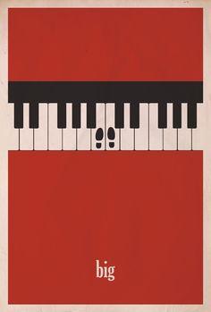 Big minimalist movie poster