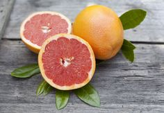 This Grapefruit Sugar Scrub uses almond oil to seal in moisture and treat sensitive skin. data-pin-do=