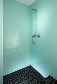 GLASS COLOUR GLACIER HIGH GLOSS GLASS EFFECT WALL PANELLING FOR SHOWER WALLS  KITCHEN SPLASH BACKS By
