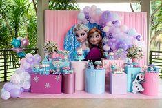 Frozen Birthday Theme, Frozen Themed Birthday Party, Girl 2nd Birthday, Carnival Birthday Parties, Turtle Birthday, Turtle Party, Frozen Party Decorations, Birthday Party Decorations, Festa Frozen Fever