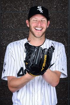 GLENDALE, AZ - FEBRUARY 27: Pitcher Chris Sale #49 of the Chicago White Sox poses for a portrait during spring training photo day at Camelback Ranch on February 27, 2016 in Glendale, Arizona. (Photo by Jennifer Stewart/Getty Images)