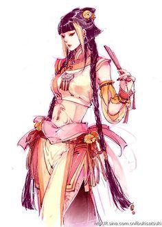 Denne minner meg litt om en slags Yuko/assassin-y type.  :3