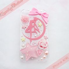 MADE TO ORDER Pink Dream Sailor Moon Decoden by KawaiixCouture, $30.00