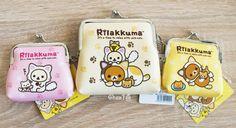 Porte-monnaies kawaii super doux de Rilakkuma San-X authentique sous licence - Boutique kawaii www.chezfee.com