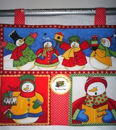 Meu panô de Natal - Retalhos de Algodão Applique Quilts, Quilt Blocks, Ronald Mcdonald, Fictional Characters, Ideas, Merry Little Christmas, Quilts, Creativity, Scrappy Quilts