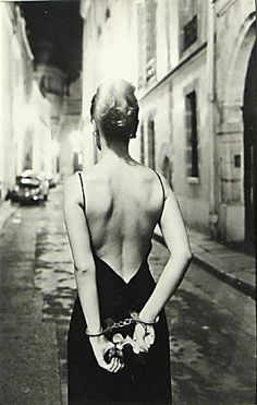 Chloé by Helmut Newton, Paris, 1970's