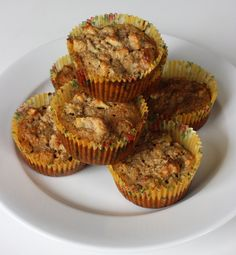 #GlutenFree Apple Muffins - great for breakfast!