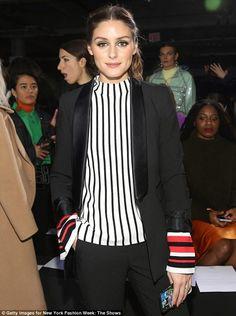 New York Fashion Week : Olivia Palermo at Tibi