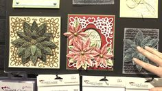 Matching Dies and Stamps from Heartfelt Creations at CHA 2013