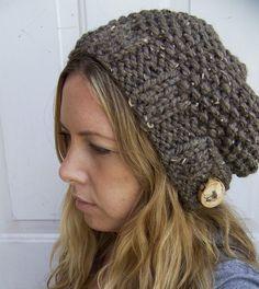 knit beanie. I LOVE this!
