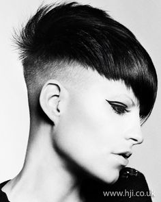 women with shaved hair styles | Photo of 2012 shaved sides womens hairstyle hairstyle