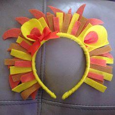 Lion headband