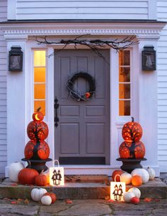 ciao! newport beach: pumpkins on the porch