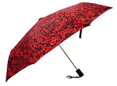 Foldable Floral Wind resilient designer Umbrellas