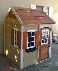 playhouse coop from Lowes
