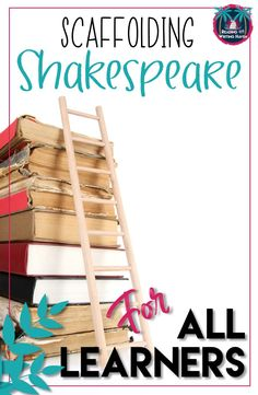 Do you teach Shakespeare? It's difficult to scaffold the text for various learners, but not impossible. Read about different options to support all learners in this post from Reading and Writing Haven. Gcse English, English Lessons, Ap English, English Units, French Lessons, Spanish Lessons, Teaching Literature, Teaching Reading, High School Literature