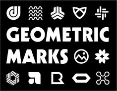 """Check out this @Behance project: """"Geometric Marks"""" https://www.behance.net/gallery/38395891/Geometric-Marks"""