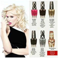GEWN STEFANI FOR OPI. Out in January!!! Gonna go die now