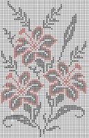 "Gallery.ru / karadima - Альбом ""neo"" Cross Stitch Fruit, Butterfly Cross Stitch, Cross Stitch Flowers, Crochet Cross, Crochet Chart, Filet Crochet, Cross Stitching, Cross Stitch Embroidery, Embroidery Patterns"