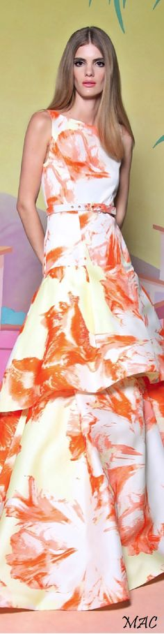 ! Haute Couture Pantone ! * Resort 2016 Christian Siriano
