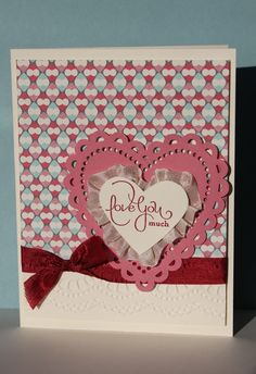 Just Julie B's Stampin' Space: A 'Best of Love' Valentine