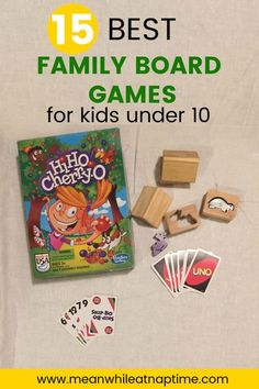 These 15 games are so fun for the entire family, both parents and kids. If you have kids under the age of 10 be sure to check out these games. #familygames #boardgames #frugalfun Preschool Board Games, Board Games For Kids, Kids Board, Love Games, Best Family Board Games, Family Games, Family Activities, Charades For Kids, Create Your Own Picture