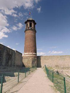 Erzurum Kalesi Saat Kulesi