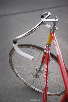 Raleigh Ti track bike