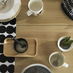 Cleaning Chemicals, Marimekko, Lettering Design, Biodegradable Products, Dinnerware, Stoneware, Plates, Ceramics, Dishes