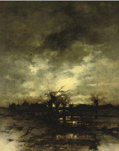 Ludwig Munthe - Sunrise in Winter