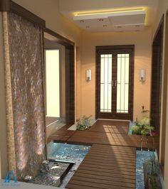 Beautiful Lobby Idea by 3D Designer at Amer Adnan Associates
