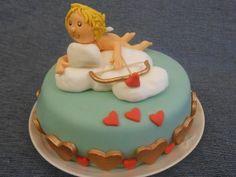 Cupido Tra Le Nuvole - http://tortedecorate.eu/cupido-nuvole/