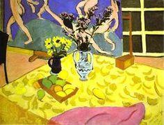 Nature morte avec La Danse - (Henri Matisse)