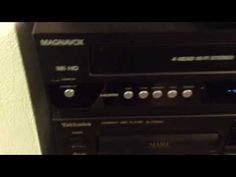 Magnavox DVD/VCR recorder ZV427MG9 - YouTube
