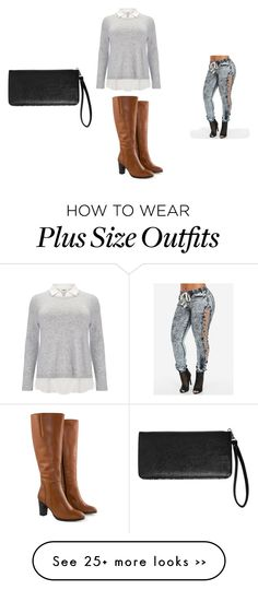 """Untitled #73"" by aprilwiqi on Polyvore featuring Studio 8, Jilsen Quality Boots and Avenue"