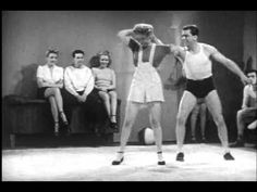 Women self defense in 1947. Producer and director, William  Forest Crouch. JUDO JYMNASTICS. Soundies Films, Inc.,  b, 16mm. A Filmcraft production.