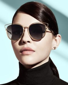 Dior Siderall 2 Round Sunglasses | Bloomingdales's