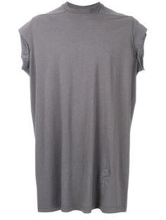 RICK OWENS DRKSHDW T-Shirt Mit Cropped-Ärmeln. #rickowensdrkshdw #cloth #cropped-ärmeln